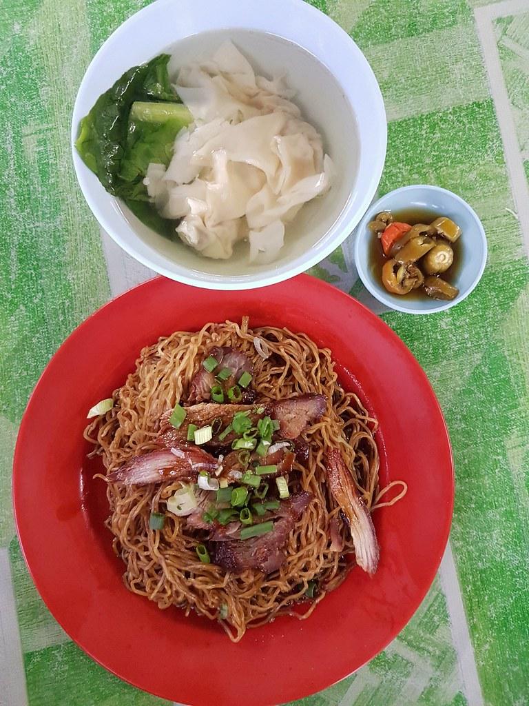 Wan Ton Mee $6.50 @ Hawkers street at KL Jalan Mesui