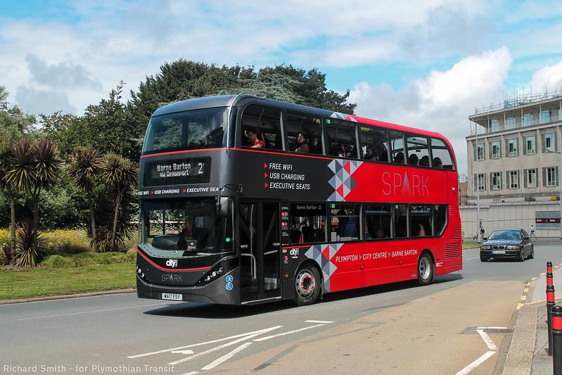 Plymouth Citybus 553 WA17FSY