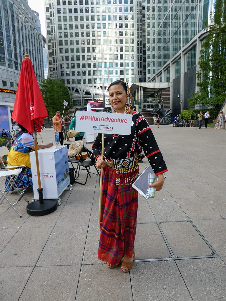 Philippines Tourist Board Event, Canary Wharf