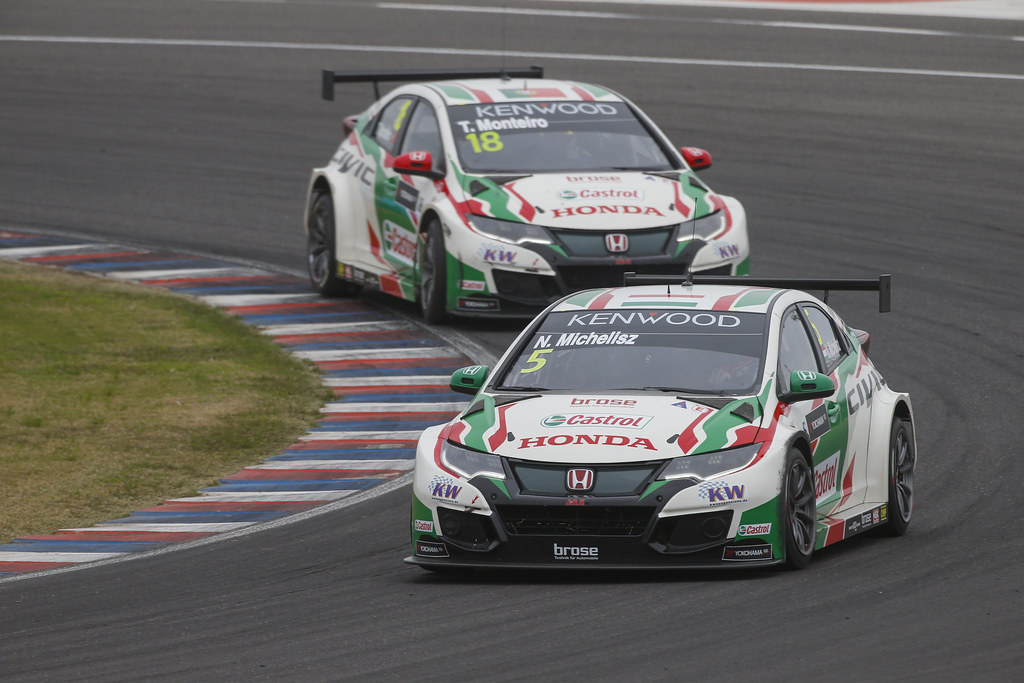 05 MICHELISZ Norbert (hun) Honda Civic team Castrol Honda WTC action during the 2017 FIA WTCC World Touring Car Race of Argentina at Termas de Rio Hondo, Argentina on july 14 to 16 - Photo Francois Flamand / DPPI