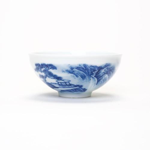 Tasse Blue China Landscape