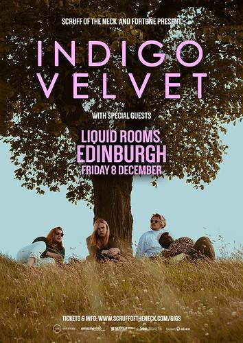Indigo Velvet poster The Liquid Rooms