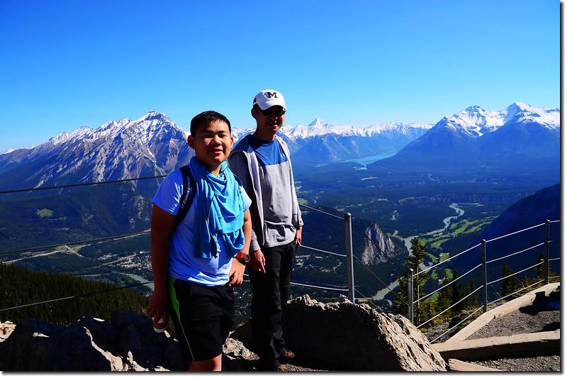 Taken from Banff Gondola Sanson Peak Observation Point 3