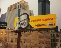 Throbinex billboard, 1994