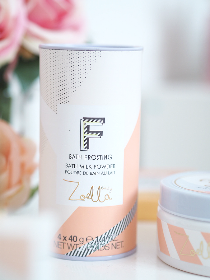 zoella bath milk powder