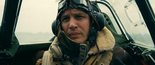 Tom Hardy dans Dunkerque de Christopher Nolan