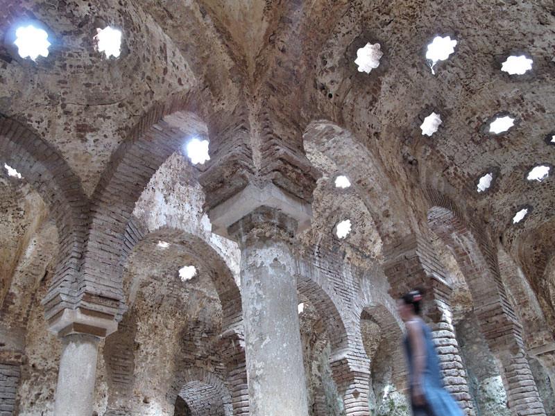 baños árabes ronda_patrimonio_sala baños templados