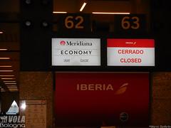 Check-in at Mallorca Airport