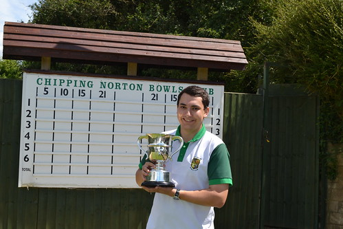 Men's 2 wood singles winner 2017