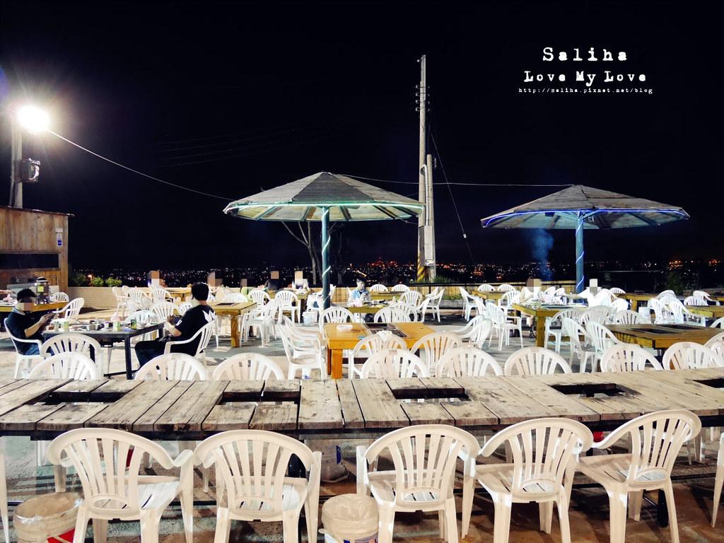台中沙鹿區夜景餐廳推薦蠔膽你來露天燒烤吃到飽 (9)