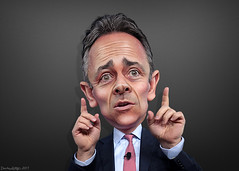 Matt Bevin - Caricature