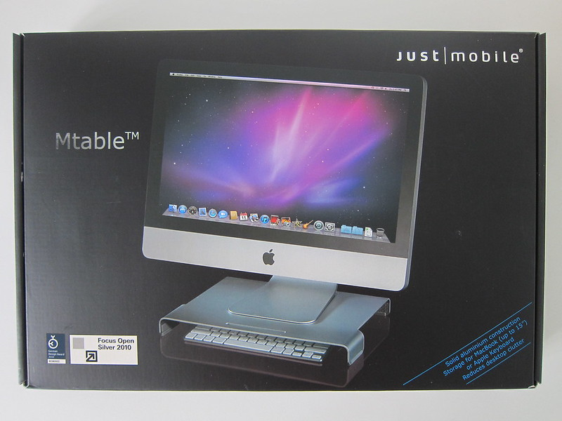 Just Mobile Mtable - Box Front