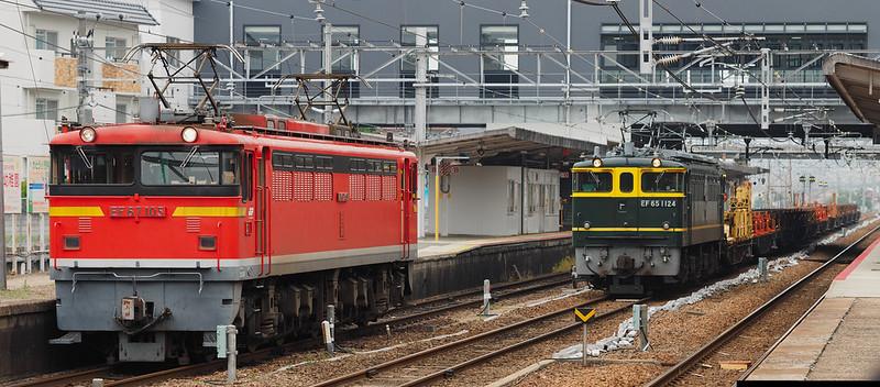 EF67 105 + EF65 1124