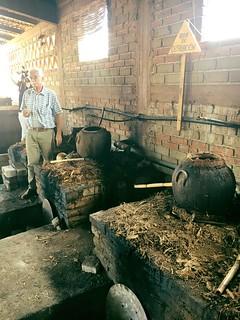 Alvin Explaining Clay Pot Distillation