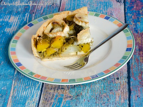 Beetroot & goat's cheese tart (1)