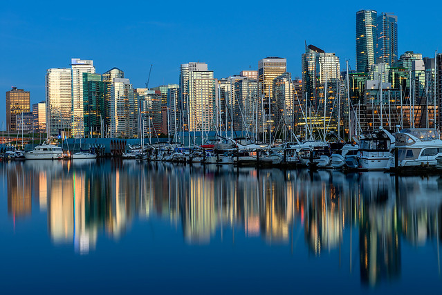 Vancouver in the Blue Hour