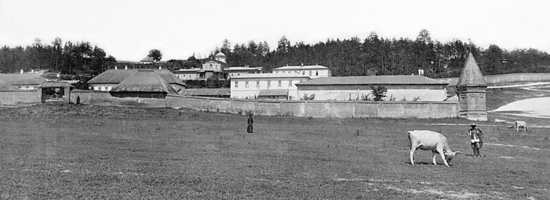 Ахтырский скит. Фото к. XIX - н. XX вв.