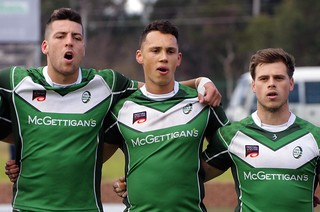 IRELAND UNIVERSITIES RUGBY LEAGUE WORLD CUP TEAM - NATIONAL ANTHEMS