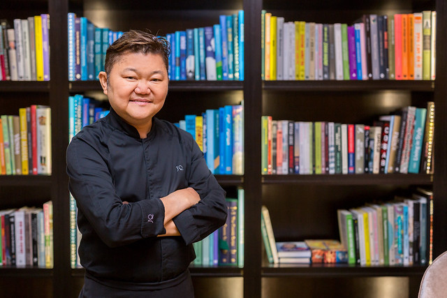 Chef Justin Quek