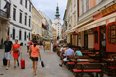 Michael?s Gate is one of the symbols of Bratislava