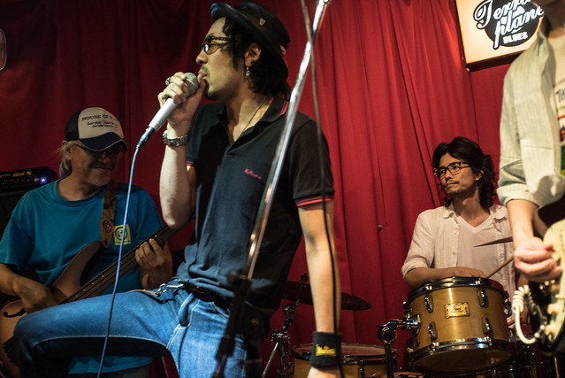 T.G.I.F. Blues Session at Terraplane, Tokyo, 14 Jul 2017 -00149