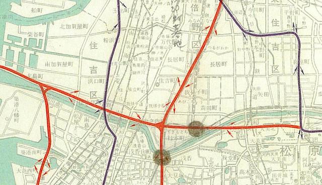 阪神高速道路大和川線(構想時)