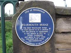 Photo of Robert Stephenson blue plaque