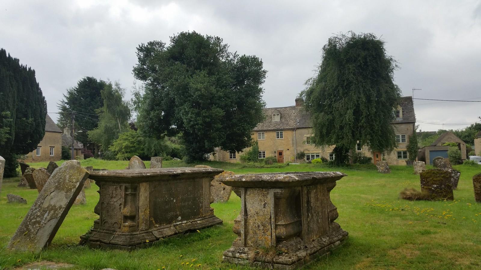 8. Churchyard at Ascott