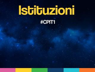 #CPIT1 Istituzioni