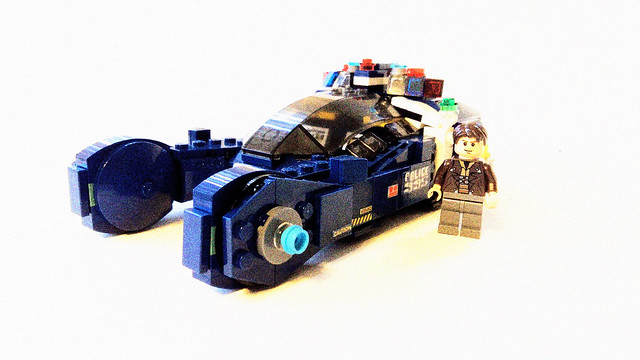 LEGO MOC: Blade Runner Police Spinner - Toy Discussion at Toyark com
