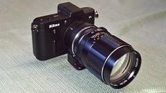V1 & Pentax Super Takumar 135 f2.5
