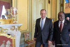 С.Лавров и С.Камара | Sergey Lavrov & Samura M. W. Kamara