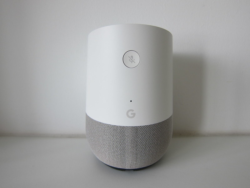 Google Home - Back