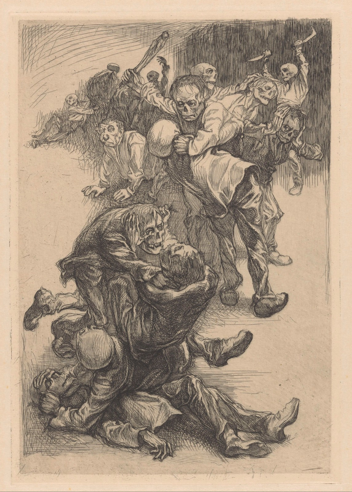 Johannes Josephus Aarts - Fighting  Monsters