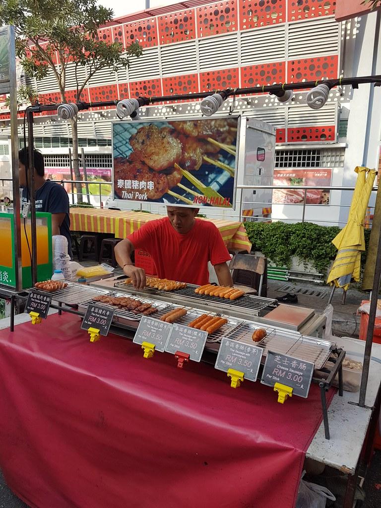 泰国猪肉串 $3/stick @ OUG Night Market
