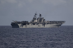 USS America (LHA 6) file photo. (U.S. Navy/MC3 Justin A. Schoenberger)