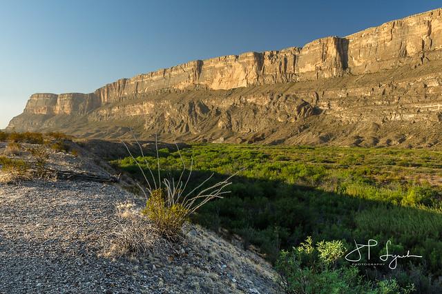 Canyon Wall - Big Bend National Park, Texas
