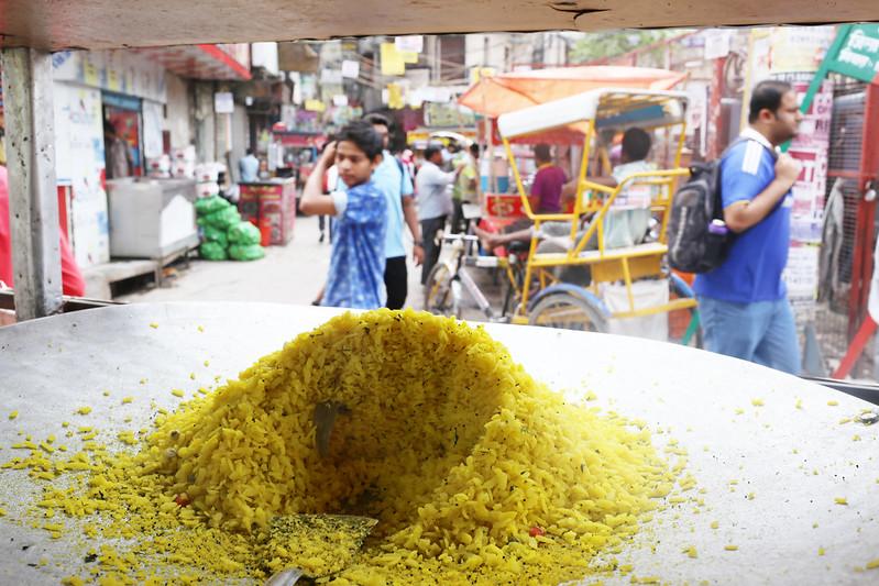 City Food - Kunal Gupta's Poha Stall, Lakshmi Nagar