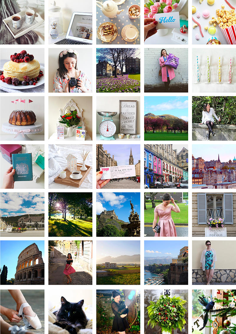 2015 in review lifestyle blogger UK Edinburgh