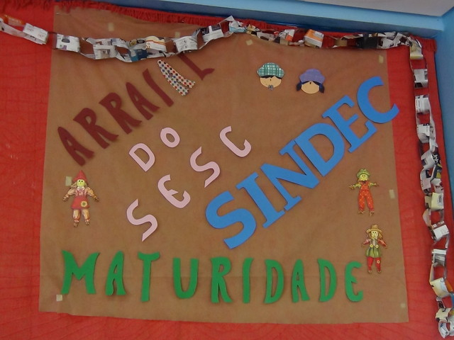 Arraiá Grupo Maturidade Ativa Ipanema