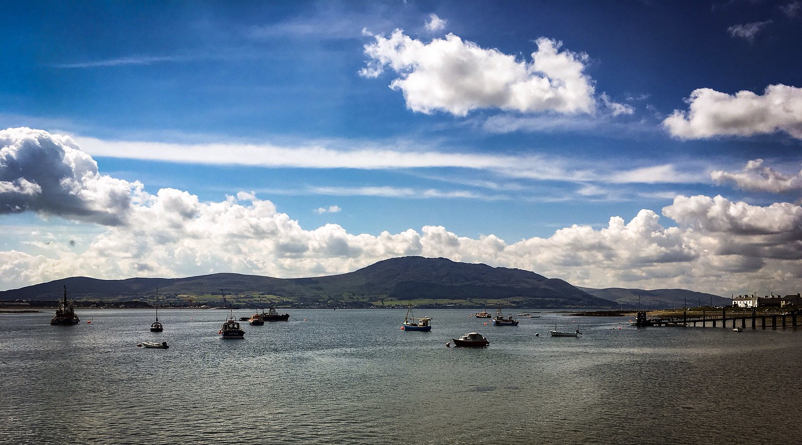 Carlingford Lough from Greencastle