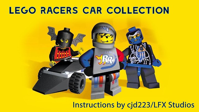 Lego Racers Car Collection Instructions Lego Action And