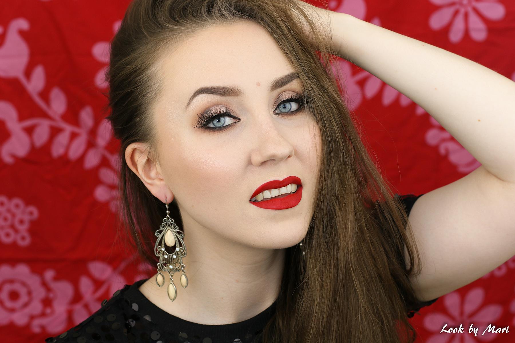 4 classic makeup inspiration tutorial inspo red lipstick makeup eye makeup blog tutorial