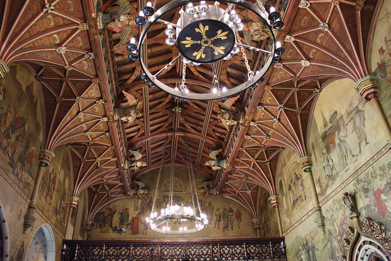 Decorations inside Cardiff Castle