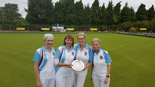 Ladies fours champion 2017
