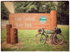 Reasons why I love Portland: I can work a morning shift, hop on a bus, ride ten miles, and find myself at the best hiker biker campground on the Pacific Coast! #capelookoutstatepark #hikerbiker #bikecamping #biketouring #capelookouttripjuly2017