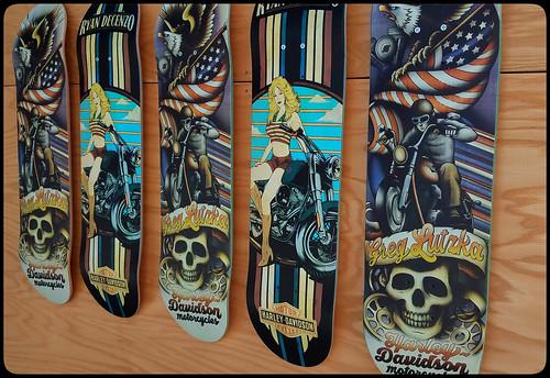 Harley Davidson boards