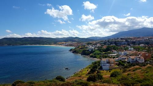 Algeciras playa Getares desde parque del centenario