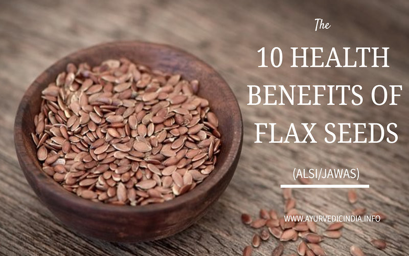 10 Health Benefits Flax Seeds (Alsi/Jawas) Side Effects-Dose