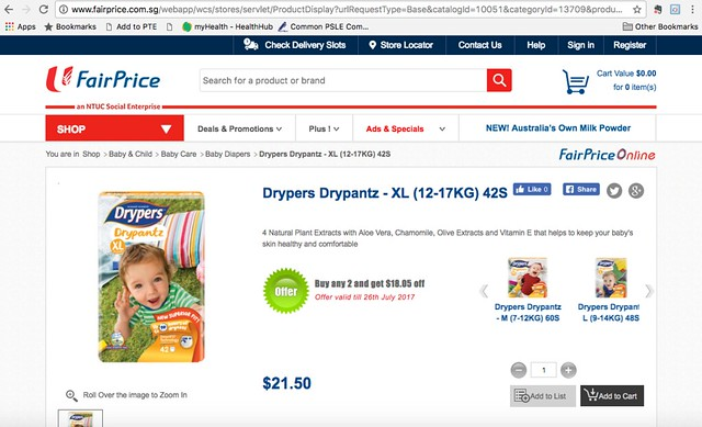 diaper-FairPrice